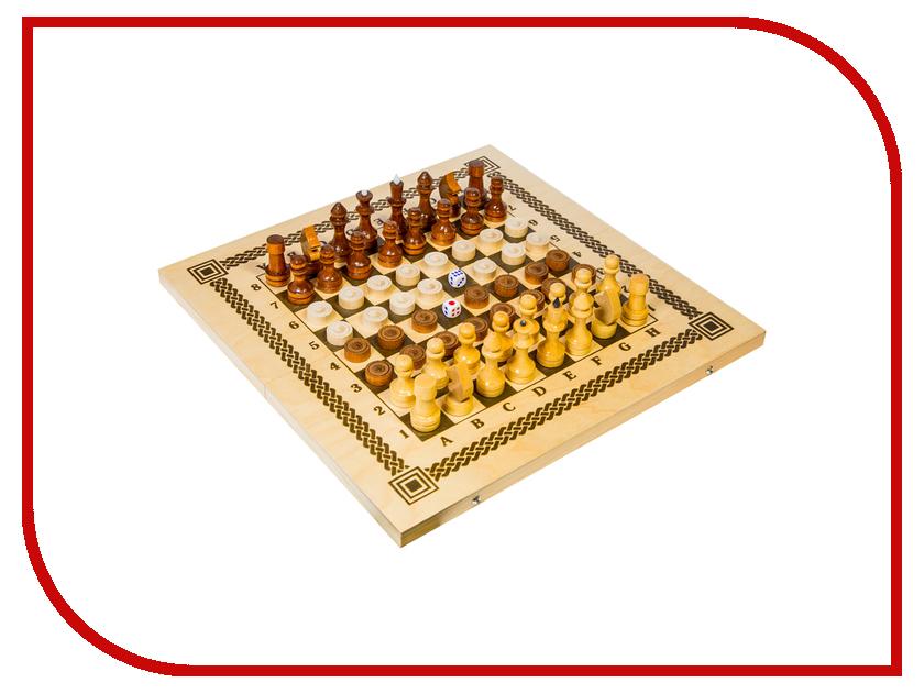 Игра Орловские шахматы Шашки, шахматы, нарды C-11/B-7 228003 игра spin master 3 в 1 шашки шахматы нарды 6038107