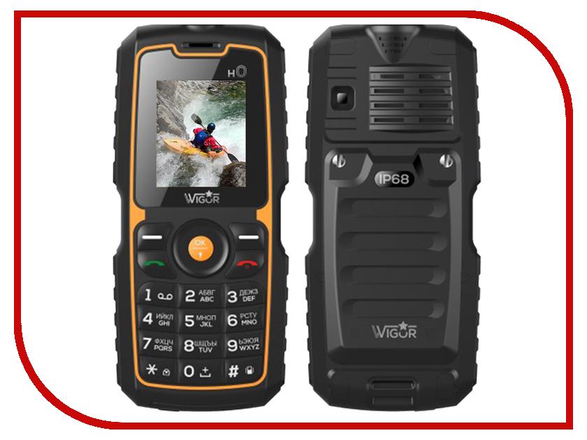 Сотовый телефон Wigor H0 DS Black сотовый телефон senseit t100 black