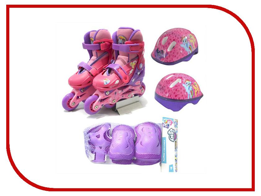 Коньки Next Мой маленький пони ABEC-7 р.30-33 MLP30-33SET коньки onlitop 223f р 33 36 pink 806169