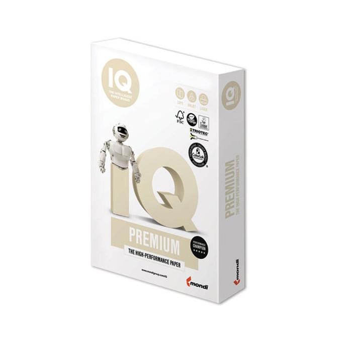 Бумага IQ Premium A4 250g/m2 150 листов A+ 169% CIE 110754