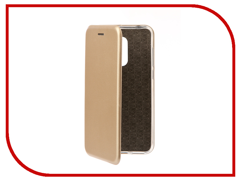 Аксессуар Чехол для Xiaomi Redmi 5 Plus Zibelino Book Gold ZB-XIA-RDM-5PL-GLD аксессуар чехол книга для xiaomi redmi 5 plus redmi note 5 innovation book silicone rose gold 11447
