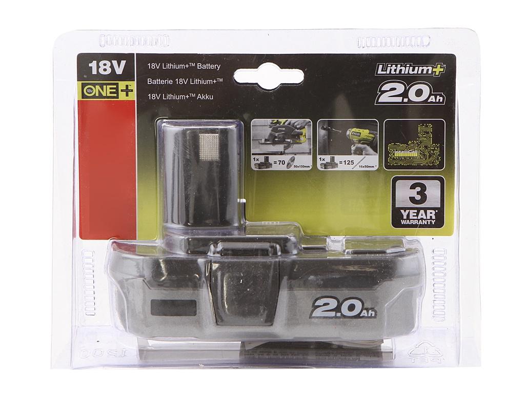 Аккумулятор Ryobi ONE+ Li-Ion RB18L20 5133002737 цена