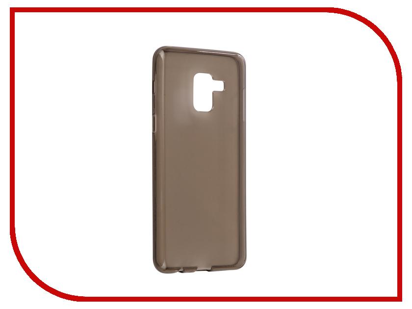 Аксессуар Чехол Samsung Galaxy A8 2018 (A530F) Zibelino Ultra Thin Case Black ZUTC-SAM-A530F-BLK аксессуар чехол samsung galaxy a8 a800f armor air slim black gb f sga8 bl