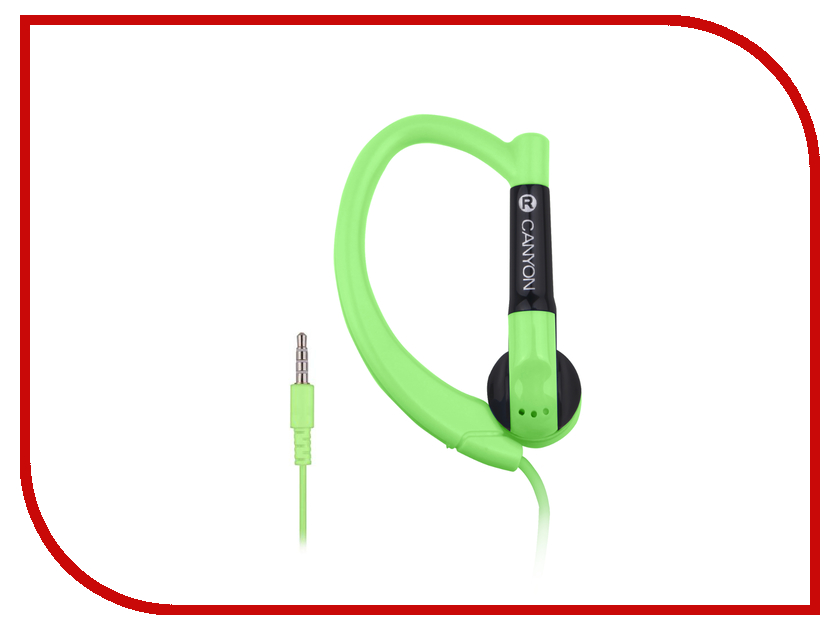 Canyon Sport Earphones Green 7ACNSSEP1G