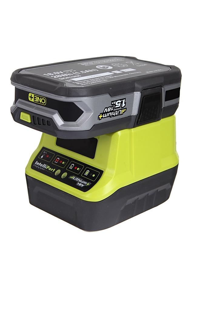 Комплект Ryobi ONE+ 1x1.5Ah Lithium + зарядное устройство RC18120-115 5133003357 ryobi rb18l40 one