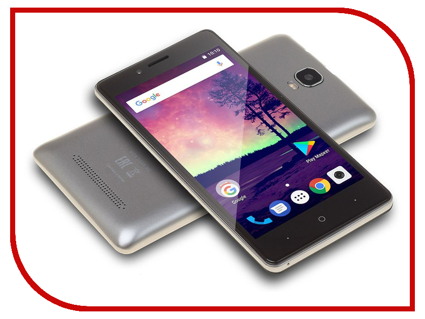 Сотовый телефон Digma VOX S509 Silver пвх панели vox в минске