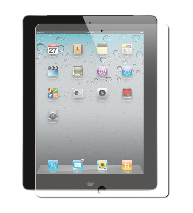 Защитное стекло Gurdini для APPLE iPad 2/3/4 Premium Glass 0.26mm Transparent 240096