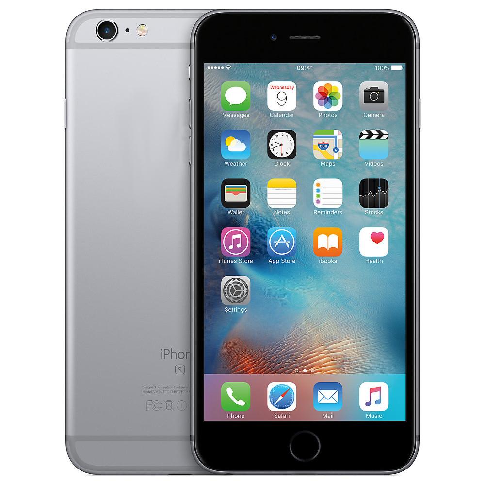 Сотовый телефон Apple iPhone 6S 128GB Space Gray восстановленный цена