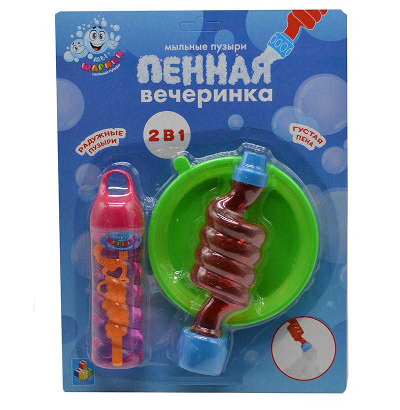Мыльные пузыри 1Toy Пенная вечеринка Т11546