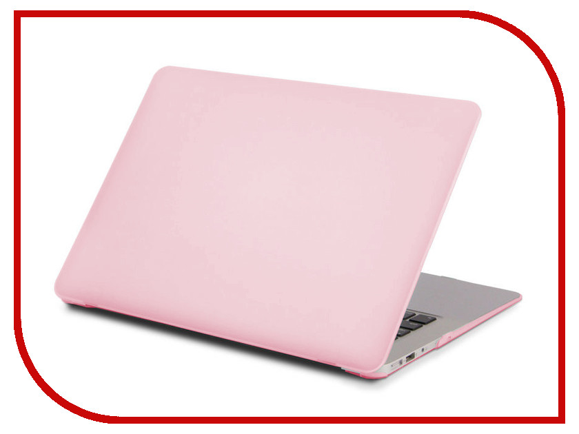 Аксессуар Чехол 13-inch Gurdini для APPLE MacBook Pro Retina 13 Plastic Light Pink 902465