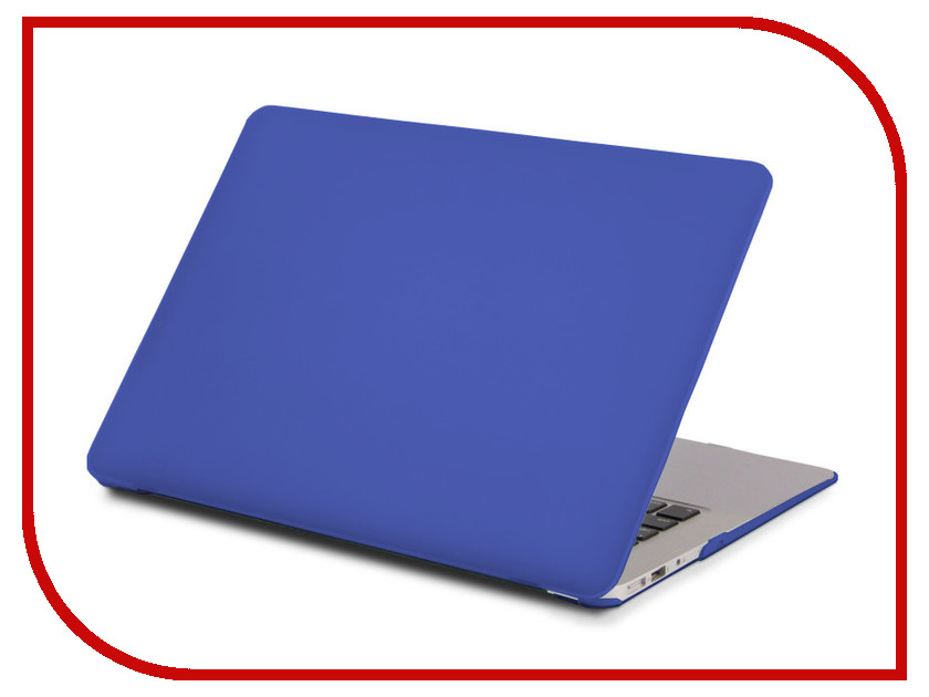 Аксессуар Чехол 13-inch Gurdini для APPLE MacBook Pro Retina 13 Plastic Blue 902456