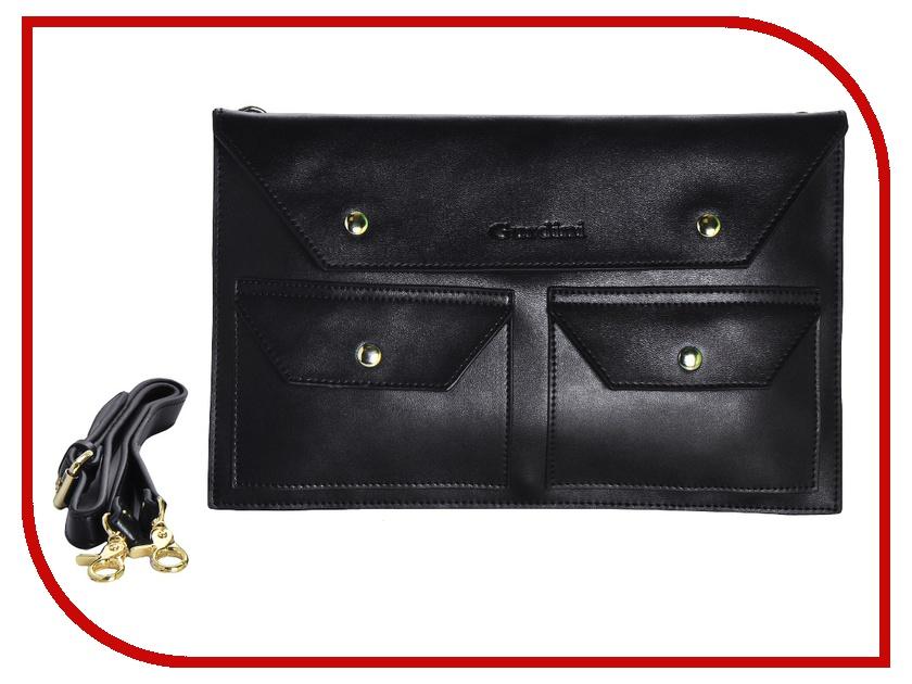 все цены на Аксессуар Сумка 13-inch Gurdini для APPLE MacBook Air 13 Leather 1 Grade Handmade Black