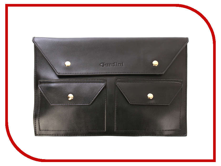 все цены на Аксессуар Сумка 11-inch Gurdini для APPLE MacBook Air 11 Leather 1 Grade Handmade Black