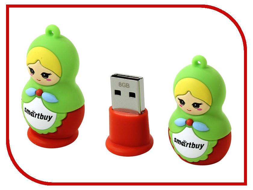 где купить USB Flash Drive 8Gb - SmartBuy Xmas series Matrioshka SB8GBDoll по лучшей цене
