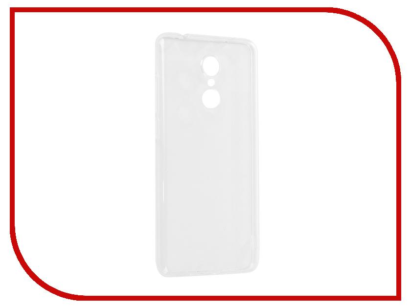 Аксессуар Чехол для Xiaomi Redmi 5 iBox Crystal Transparent аксессуар чехол для samsung galaxy a6 plus ibox crystal silicone transparent
