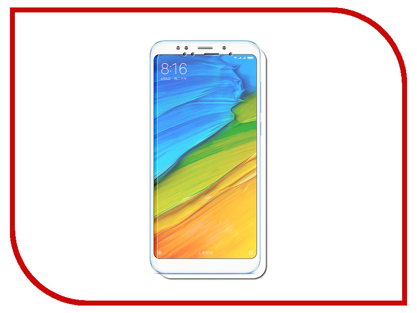 Аксессуар Защитное стекло для Xiaomi Redmi 5 Plus Red Line Tempered Glass УТ000014505 protective glass red line for xiaomi redmi 5 plus