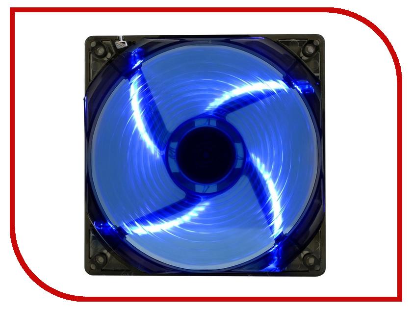 Вентилятор GameMax WindForce 4 x Blue LED 4 x 4 press buttons module blue