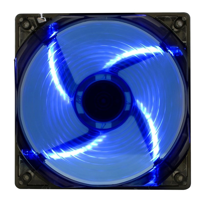 Вентилятор GameMax WindForce 4 x Blue LED цена и фото