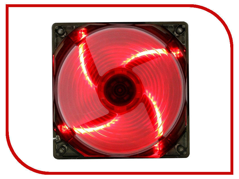 Вентилятор GameMax WindForce 4 x Red LED sx 168 bicycle 4 sound 2 flahsing electric horn w led light red 3 x aaa