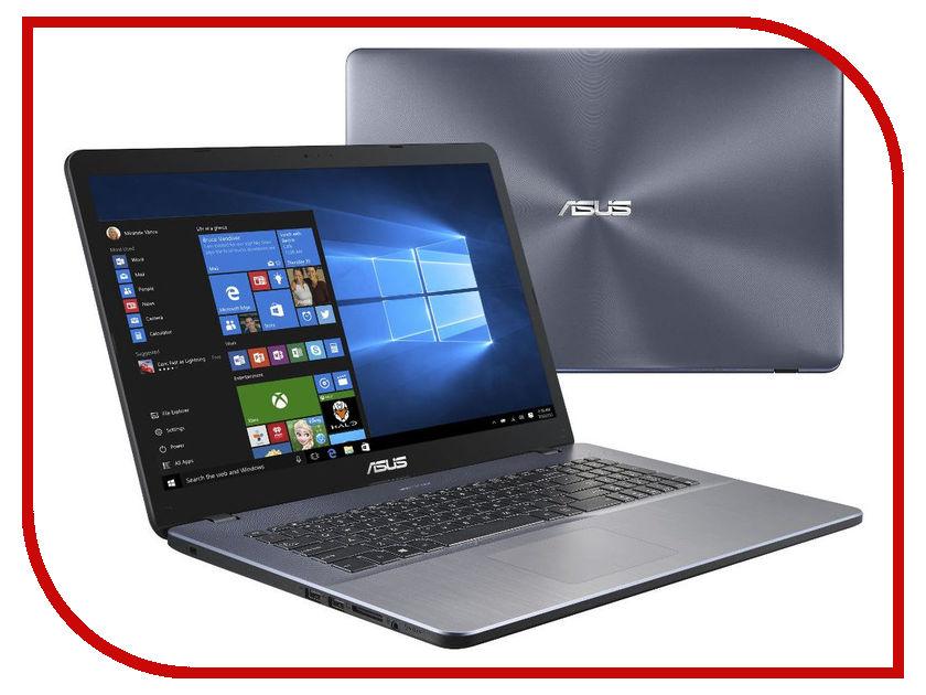 Ноутбук ASUS X705UV-BX207T 90NB0EW2-M03000 (Intel Pentium 4405U 2.1 GHz/8192Mb/1000Gb/No ODD/nVidia GeForce 920MX 2048Mb/Wi-Fi/Bluetooth/Cam/17.3/1600x900/Windows 10 64-bit) ноутбук lenovo 320s 15isk 80y90002rk intel core i3 6006u 2 0 ghz 4096mb 1000gb no odd nvidia geforce 920mx 2048mb wi fi cam 15 6 1366x768 windows 10 64 bit