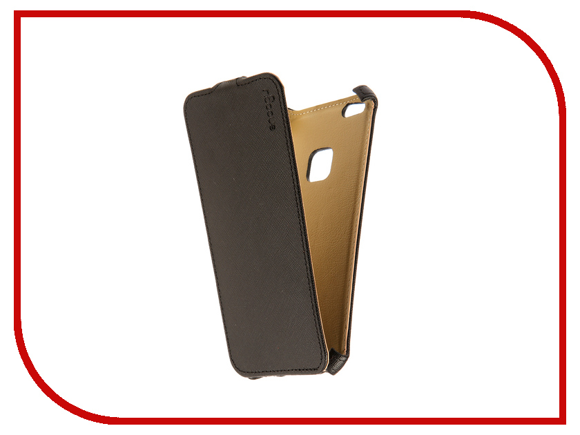 Аксессуар Чехол Huawei Honor P10 Lite Snoogy иск.кожа Black SN-HHb-P10lite-BLK-LTH