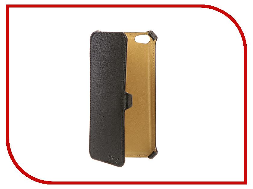 Аксессуар Чехол Xiaomi Redmi Note 5A Snoogy иск. кожа Black SN-Xiab-n5A-BLK-LTH аксессуар чехол snoogy иск кожа black для apple iphone 6 6s sn iph 6 6s blk lth