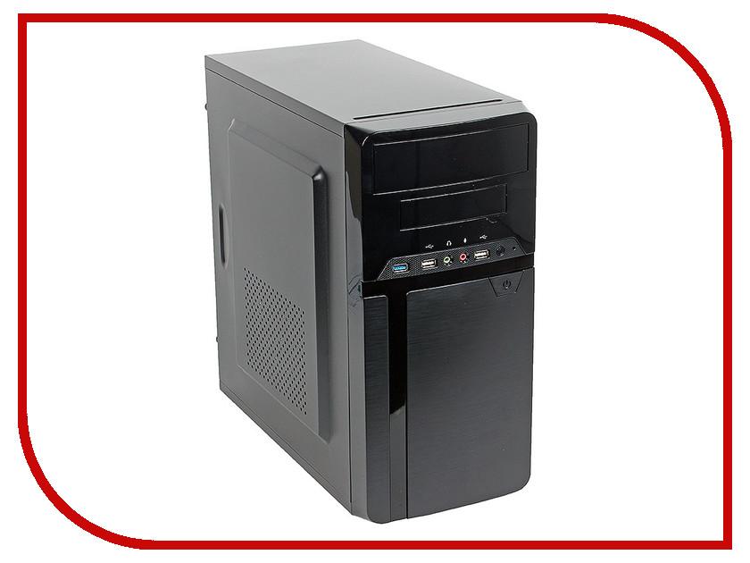 Корпус SunPro Vista IV mATX 450W Black 0522293