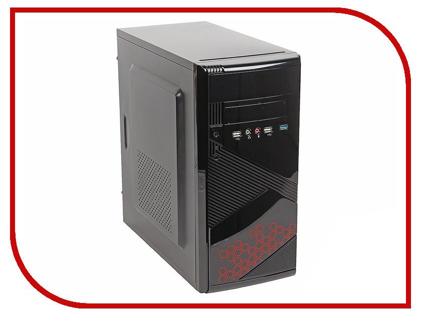 Корпус SunPro Vista III mATX 450W Black 0351511