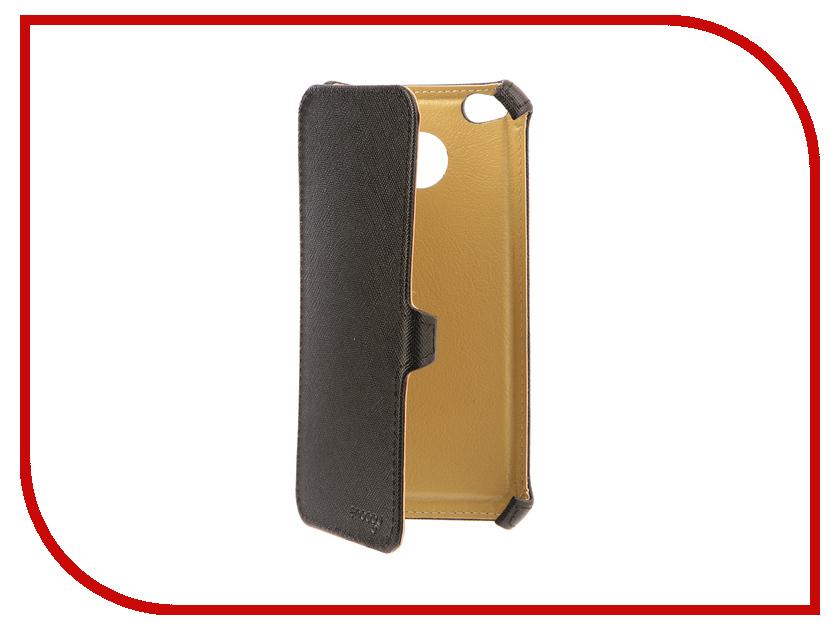 Аксессуар Чехол Xiaomi Redmi 4X Snoogy иск. кожа Black SN-Xiab-4X-BLK-LTH смартфон xiaomi redmi 4x 16gb gold