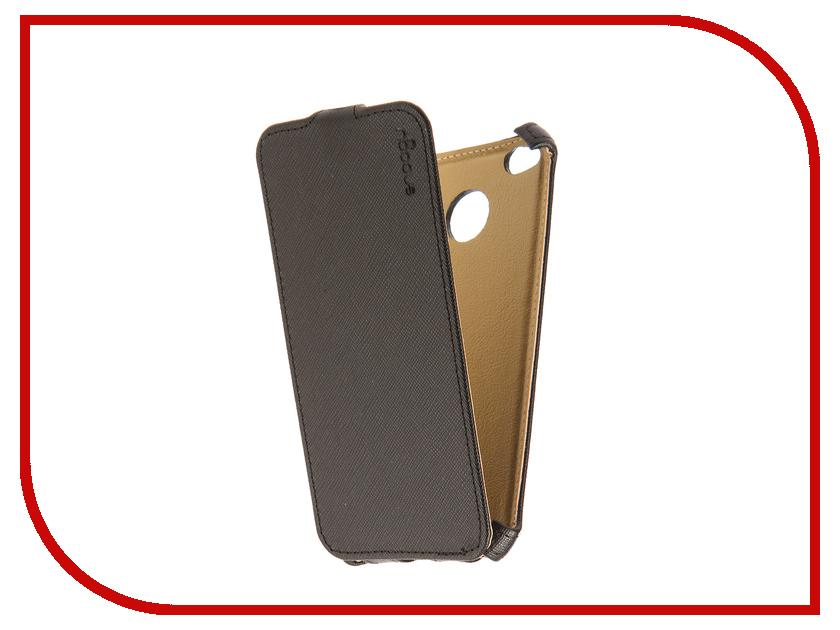 Аксессуар Чехол Xiaomi Redmi 4X Snoogy иск. кожа Black SN-Xia-4X-BLK-LTH смартфон xiaomi redmi 4x 16gb gold