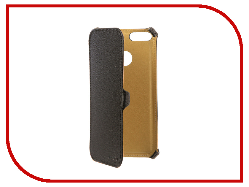 Аксессуар Чехол Xiaomi Mi A1/Mi 5X Snoogy иск. кожа Black