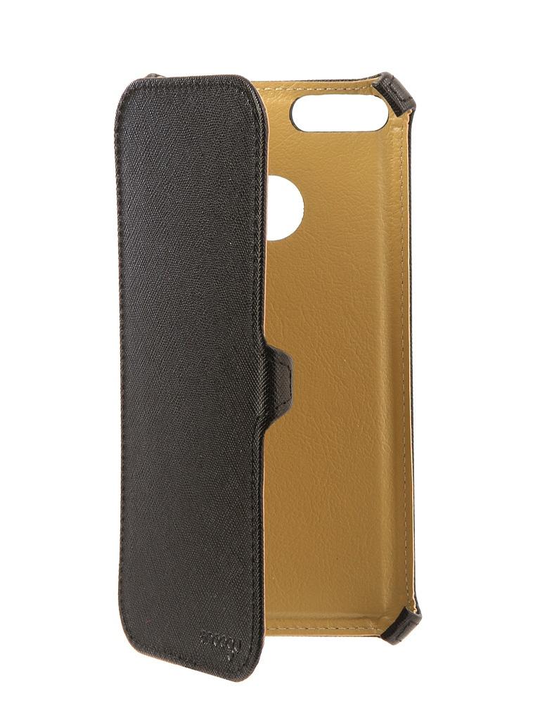 Аксессуар Чехол Snoogy для Xiaomi Mi A1/Mi 5X иск. кожа Black SN-Mib-A1/5X-BLK-LTH goowiiz серебро mi note3