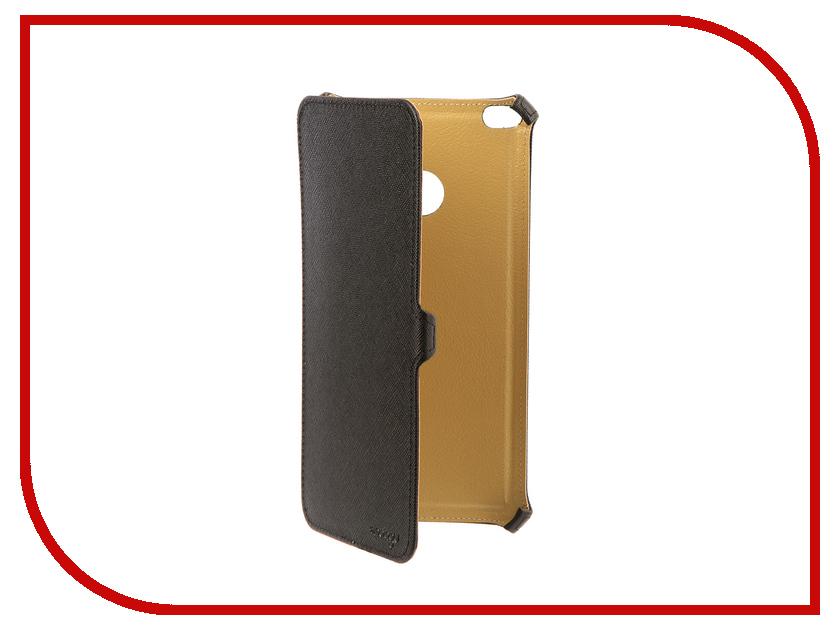 Аксессуар Чехол для Xiaomi Mi Max 2 Snoogy иск. кожа Black SN-Xiab-MM2-BLK-LTH