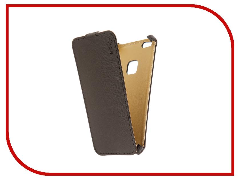 Аксессуар Чехол для Huawei Honor P10 Lite Snoogy иск.кожа Black SN-HH-P10lite-BLK-LTH
