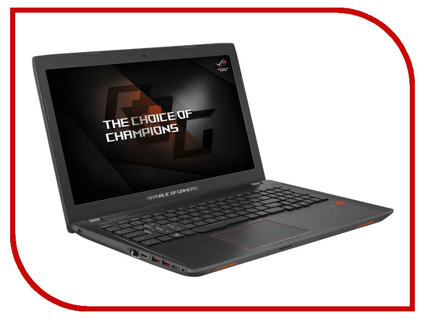 Ноутбук ASUS ROG GL553VE-FY025T 90NB0DX3-M06940 (Intel Core i7-7700HQ 2.8 GHz/16384Mb/1000Gb + 128Gb SSD/DVD-RW/nVidia GeForce GTX 1050Ti 4096Mb/Wi-Fi/Cam/15.6/1920x1080/Windows 10 64-bit) ноутбук asus rog gl553ve fy037t 90nb0dx3 m01580 intel core i7 7700hq 2 8 ghz 8192mb 1000gb 128gb ssd dvd rw nvidia geforce gtx 1050ti 4096mb wi fi cam 15 6 1920x1080 windows 10 64 bit