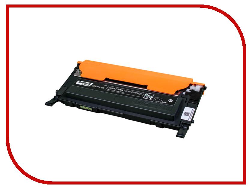 Картридж Sakura CLT-K409S Black для Samsung CLP-310N/315/CLX-3170/3175/3175FN/3175 1500к 1set clt k407s 407s clt k409s k409s toner cartridge for samsung 326w clp 320 clp 325w clx 3185fw clp 310n clx 3170
