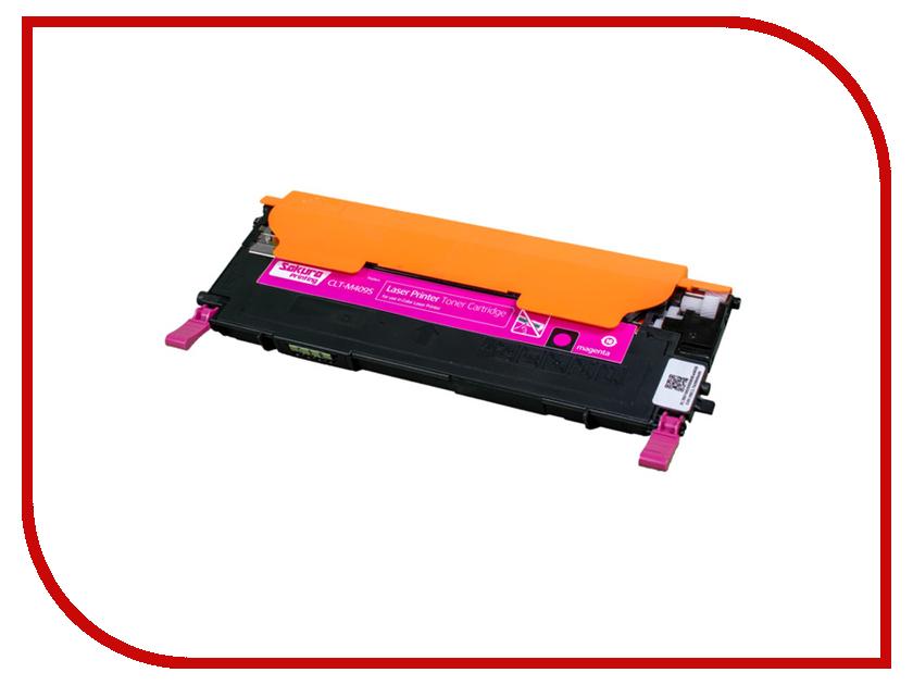 Картридж Sakura CLT-M409S Purple для Samsung CLP-310N/315/CLX-3170/3175/3175FN/3175N 1000к картридж samsung clt m409s magenta для clp 310 310n 315 clx 3170 3170nf 3175 3175fn 1000стр