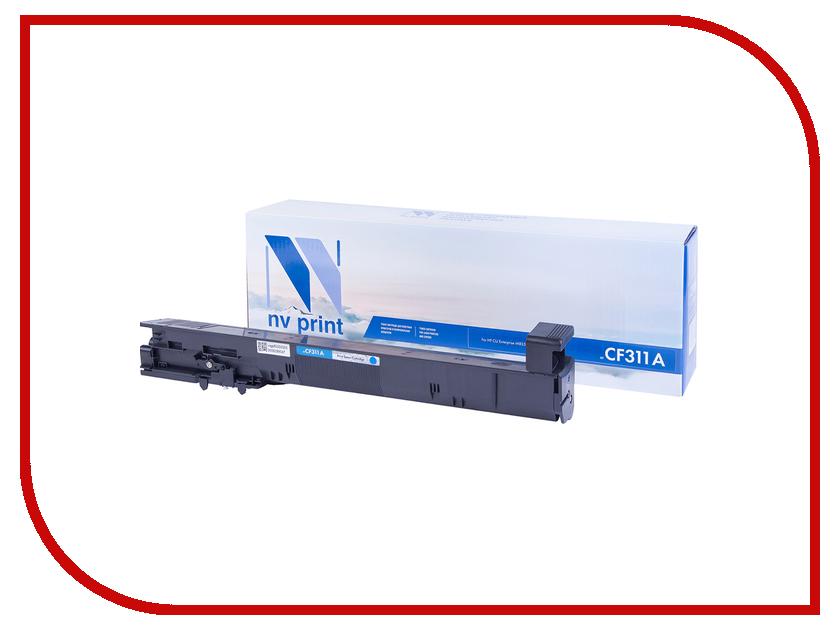 Картридж NV Print NV-CF311A Cyan HP HP LaserJet Color M855dn/M855x/M855x+/M855xh картридж nv print black для laserjet color 3500 3550n 3700 6000k nv q2670abk