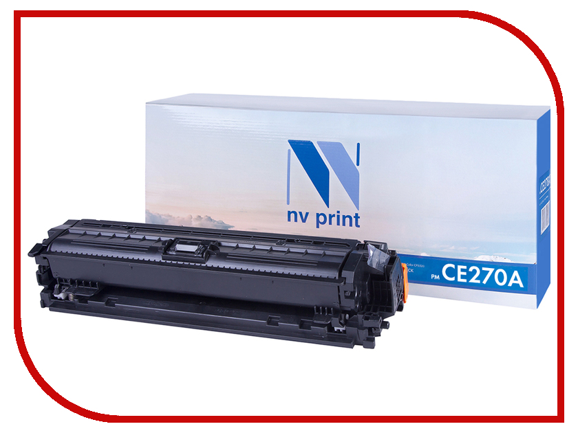 Картридж NV Print NV-CE270A Black для HP LaserJet Color CP5525dn/CP5525n/CP5525xh/M750dn/M750n/M750xh картридж nv print для samsung sl m2620 2820 2870 3000k nv mltd115l