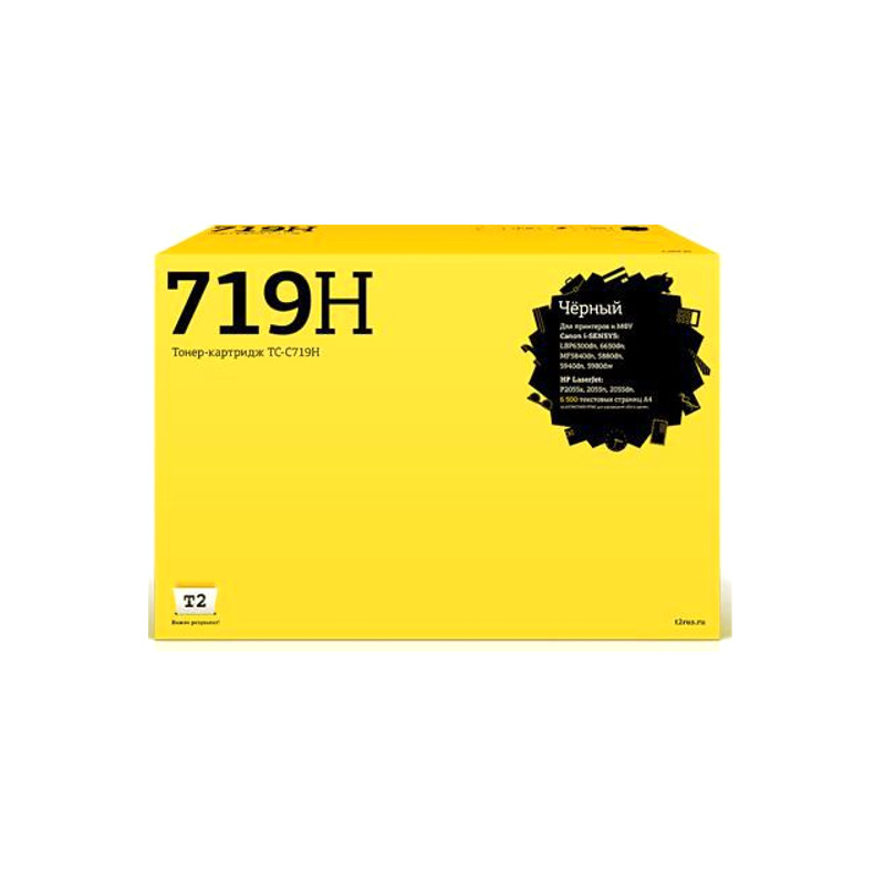 Картридж T2 TC-C719H Black