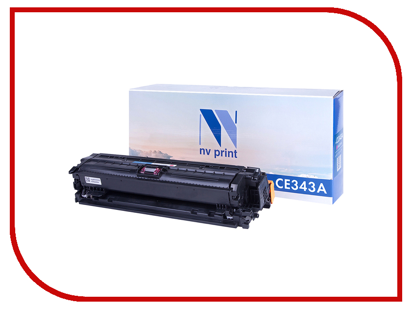 Картридж NV Print NV-CE343A Magenta для HP LaserJet Color Enterprise 700 M775dn/M775f/M775z/M775z+ картридж nv print для samsung sl m2620 2820 2870 3000k nv mltd115l