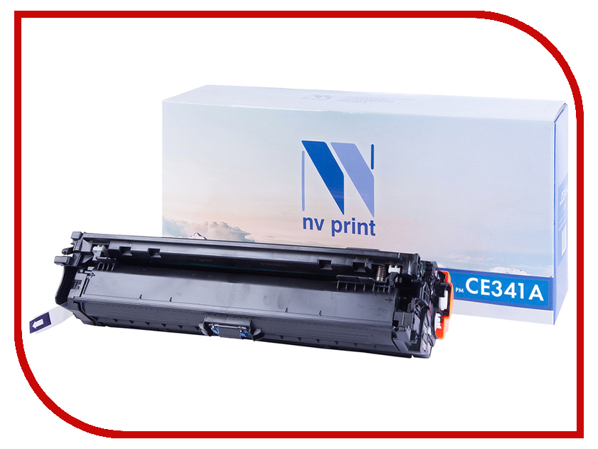 Картридж NV Print NV-CE341A Cyan для HP LaserJet Color Enterprise 700 M775dn/M775f/M775z/M775z+ картридж для принтера nv print для hp cf403x magenta