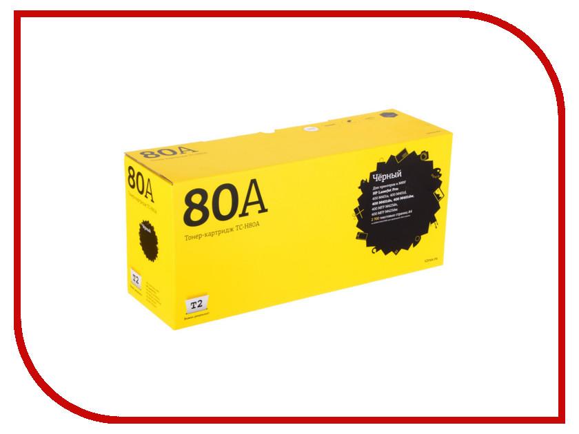 Картридж T2 TC-H80A Black для HP LJ Pro 400 M401/400 MFP 425 2700стр.с чипом