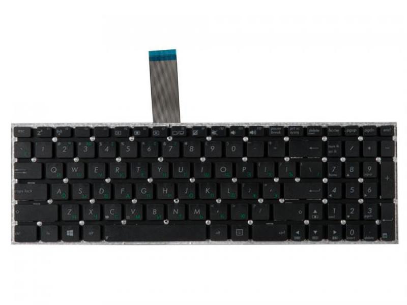 Клавиатура RocknParts Zip для Asus X501/X550/X551/F552/X550Ea/X550Cc/X501A/X501U/X550L/X550La/X550Lb/X551C/X550Ca/X550Vb/X550Vc/F552C/F552Cl Black 372172 цена
