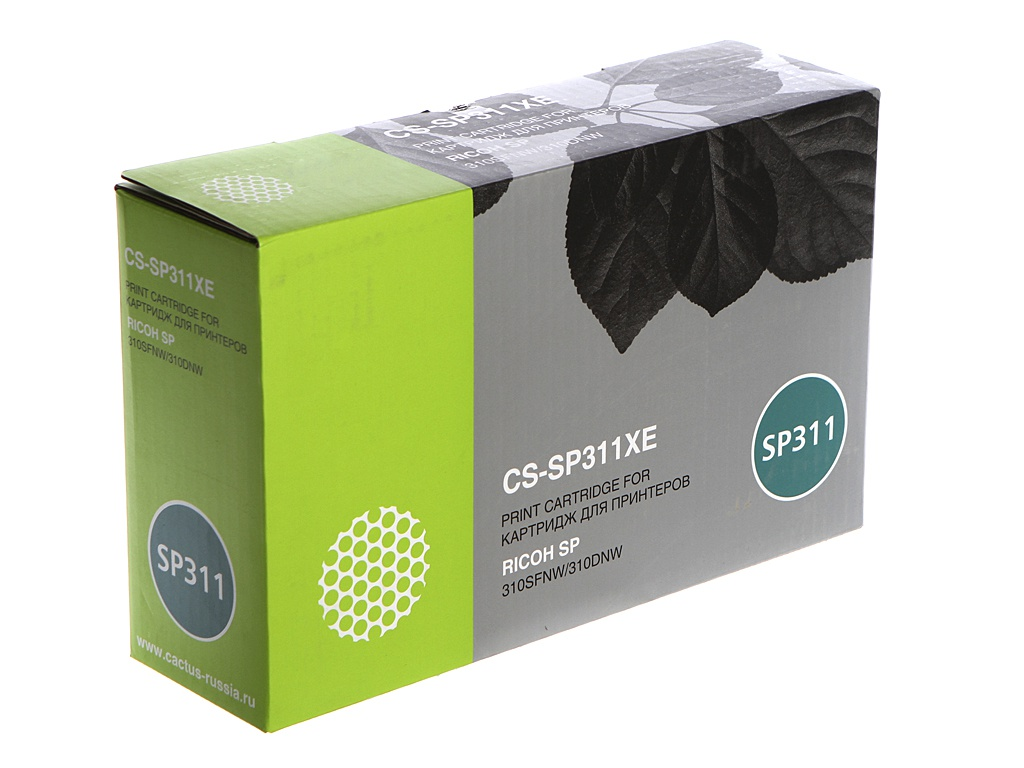 Картридж cactus CS-SP311XE Black