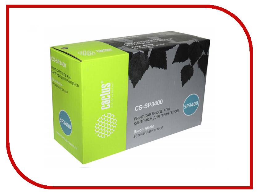 Картридж Cactus CS-SP3400 Black для Ricoh Aficio SP 3400/3410/3400n/3410dn/3400sf/3410sf toner reset chip for ricoh sp3400 3410 3500 3510