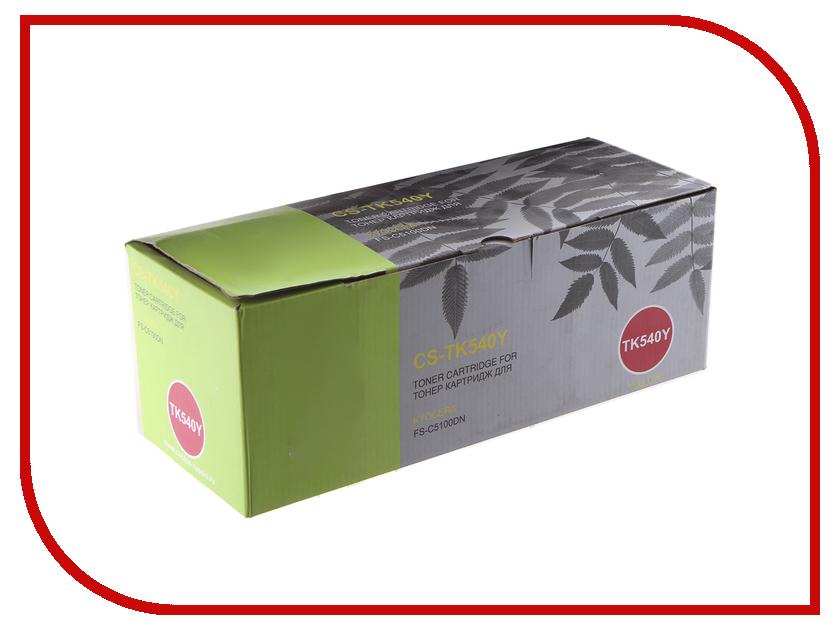 Картридж Cactus CS-TK540Y Yellow для Kyocera FS-C5100DN refill laser copier color toner powder kits kit for kyocera tk 540 tk 540 543 tk540 fs c5100dn fs c5100 fs c5100dn c5100 printer