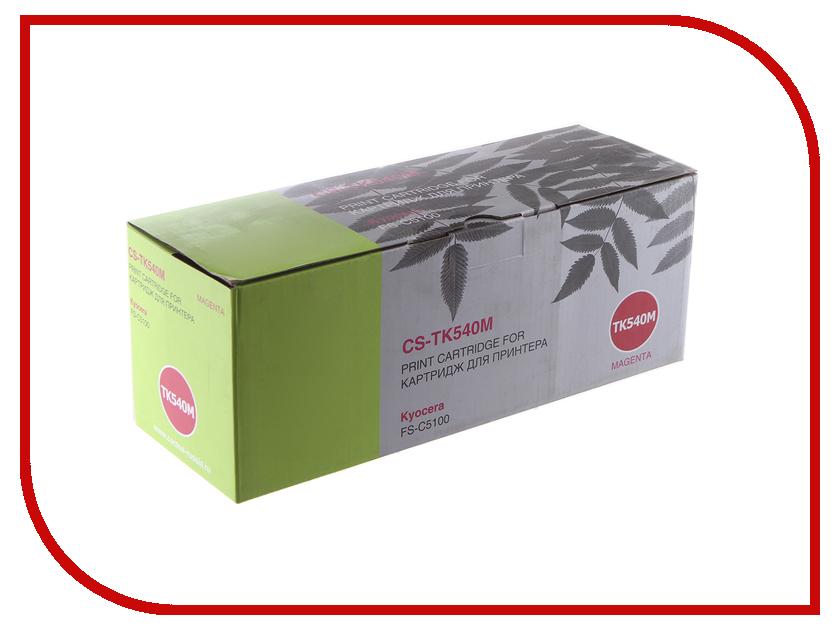 Картридж Cactus CS-TK540M Magenta для Kyocera FS-C5100DN refill laser copier color toner powder kits kit for kyocera tk 540 tk 540 543 tk540 fs c5100dn fs c5100 fs c5100dn c5100 printer