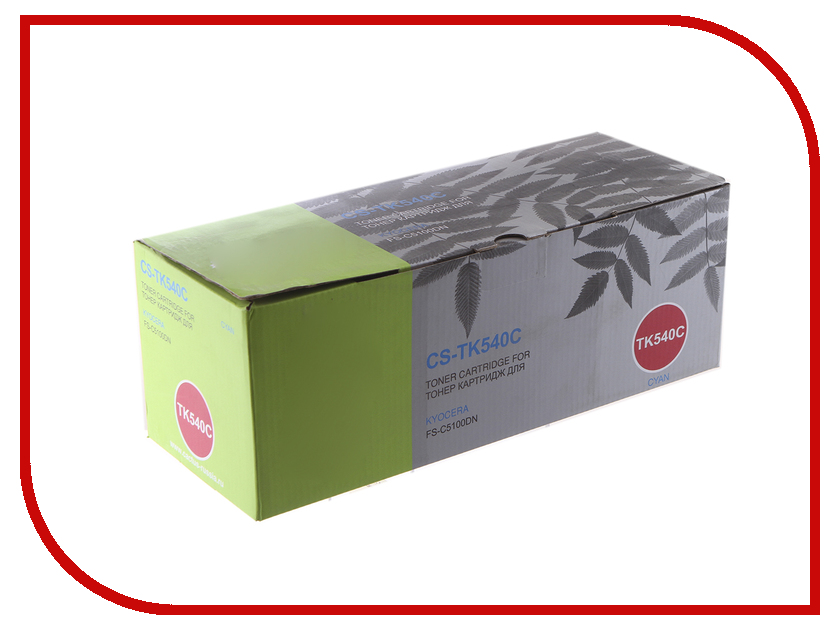 Картридж Cactus CS-TK540C Cyan для Kyocera FS-C5100DN refill laser copier color toner powder kits kit for kyocera tk 540 tk 540 543 tk540 fs c5100dn fs c5100 fs c5100dn c5100 printer