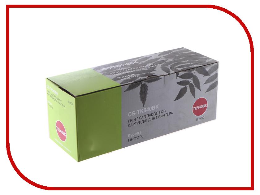 Картридж Cactus CS-TK540Bk Black для Kyocera FS-C5100DN refill laser copier color toner powder kits kit for kyocera tk 540 tk 540 543 tk540 fs c5100dn fs c5100 fs c5100dn c5100 printer